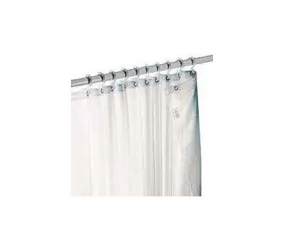 Zenith H20BB Zenith Bathstyles Shower Curtain/Liner, 72 in L, 70 in W, Polyester, Beige/Tan