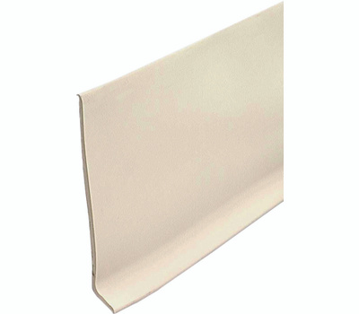 MD Building Products 23621 4 Inch Wide By 4 Foot Long Almond Vinyl Adh Wall Base