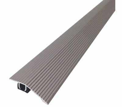 MD Building Products 43318 Seam Binder, 36 in L, 1-13/16 in W, Fluted Surface, Aluminum, Stain Nickel
