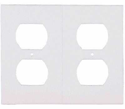 MD Building Products 87916 Wall Plate 6 Pack