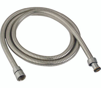 Whedon AF205C Shower Hose, 1/2 in Connection, Female, 59 to 80 in L Hose, Stainless Steel, Chrome