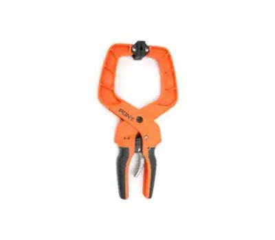 Pony Jorgenson 32400 Hand Clamp, 4 in Max Opening Size, Nylon Body