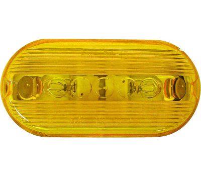 Peterson V135A Marker Light, 12 V, Incandescent Lamp, Amber Lens, Surface Mounting