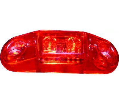Peterson V168R Led Light, 9/16 V, 2 -Lamp, Led Lamp, Red Lamp