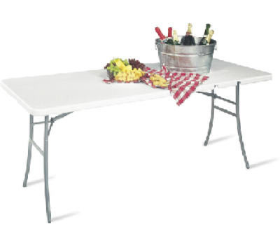 Cosco 14-178-WSP1 30 By 72 Inch Center Fold Table
