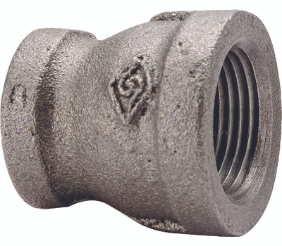 WorldWide Sourcing 24-1X3/4B 1 By 3/4 Inch Black Pipe Reducing Coupling
