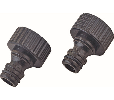 Landscapers Select GC540*23L Adapter Tap Plastic Female 3/4 Inch 2 Pack