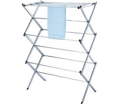 Simple Spaces BS64-CH-3L Clothes Dryer Folding Chrome