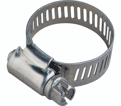 ProSource HCRSS06-3L Hose Clamp Stainless Steel With Stainless Steel Screw 1/2 Inch Band By 3/8 To 7/8 Inch Number 6