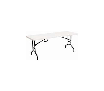 Simple Spaces TBL-072 Table Fld Portbl 6ft Cary Hdle