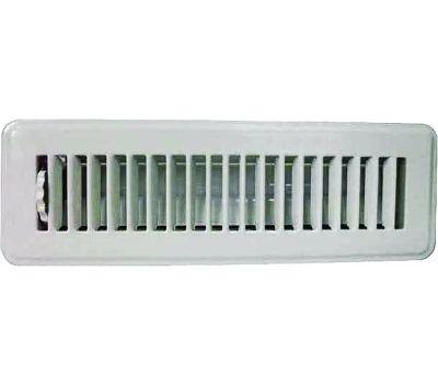 WorldWide Sourcing FR01-2X10W Register Floor 2x10in Wht