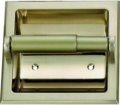 Boston Harbor 776H-07-SOU Manhattan Recessed Toilet Paper Holder Brushed Nickel