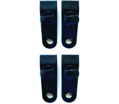 ProSource PC-301 Mintcraft Nylon Reinforced Tarp Clip 1/2 Inch Hole 4 Pack
