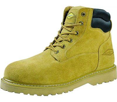 DiamondBack WSST-10.5 Work Boots, 10.5, Leather Upper