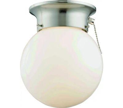 Boston Harbor F3015-3375-BN Light Ceiling 1 Light Pull chain Brushed Nickel