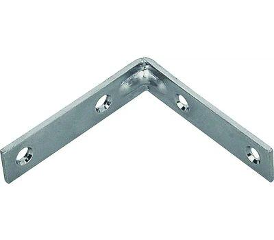 ProSource CB-B01-C4PS Corner Braces 1 By 1/2 Inch Zinc Plated Steel 4 Pack