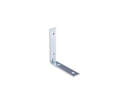 ProSource CB-B03.5-C4PS Corner Braces 3-1/2 By 3/4 Inch Zinc Plated Steel 4 Pack