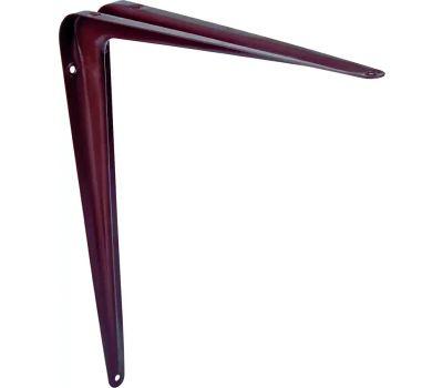 ProSource 21139CHO-PS Utility Shelf Bracket 6 By 8 Inch Chocolate