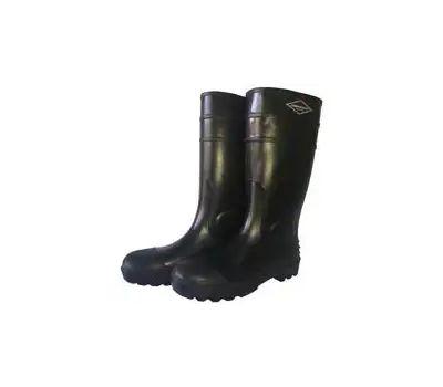 DiamondBack L-G06B10 Knee Boots, 10, Black, Pvc Upper