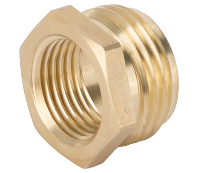 Landscapers Select GHADTRS-4 Connector Brass 3/4 NHT By 1/2 NPT