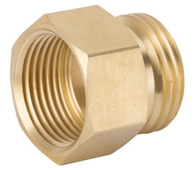 Landscapers Select GHADTRS-6 Connector Brass 3/4 MHT By 3/4 FPT