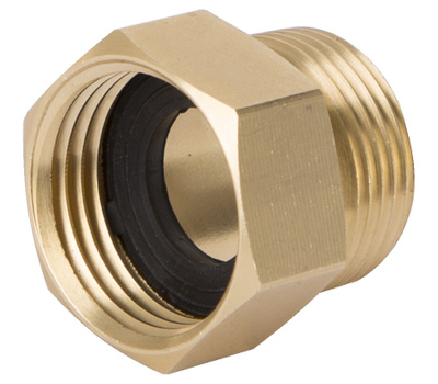 Landscapers Select GHADTRS-7 Connector Brass 3/4 MPT By 3/4 FHT