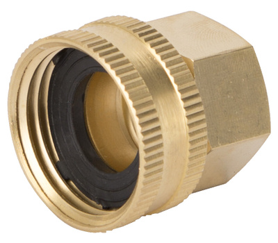 Landscapers Select GHADTRS-8 Connector Brass Swivel 1/2 NPT By 3/4 NHT