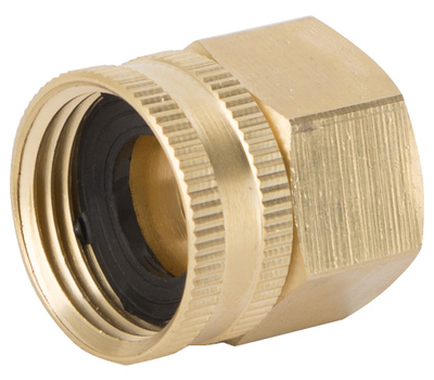 Landscapers Select GHADTRS-9 Connector Brass Swivel 3/4 NPT By 3/4 NHT
