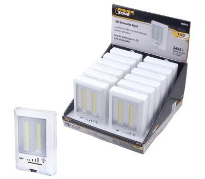 Power Zone 12499 Switch Lght W/Dim Led Cob 180l