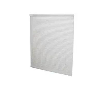 Simple Spaces PVCMB-10A Blind Vinyl Crdls Wht 35wx64h