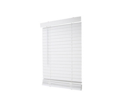 Simple Spaces FWMB-8 Blind Mini Fxwd Crdls Wh 23x64