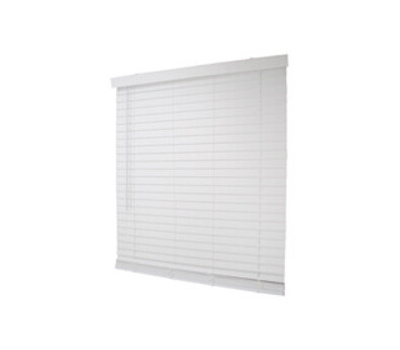 Simple Spaces FWMB-17 Blind Mini Fxwd Crdls Wh 39x64