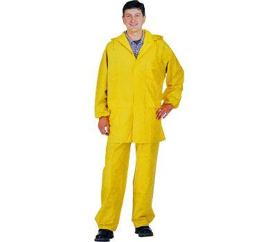 DiamondBack 8127-LG 2 Piece Yellow Rainsuit Large