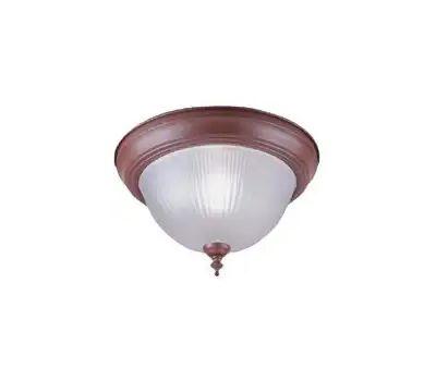 Boston Harbor RF04 1 Light Sienna Flush Ceiling Fixture