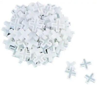 Vulcan MJ-T80803 Tile Spacers Plastic Cross Shape 1/8 Inch