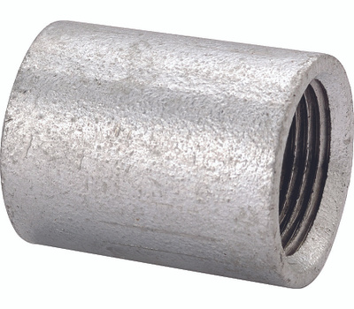 WorldWide Sourcing PPGSC-15 1/2 Inch Galvanized Merchant Coupling