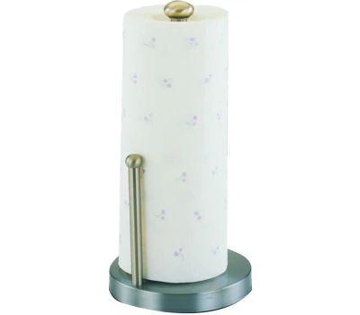 Simple Spaces L1070-26-02-M Satin Nickel Paper Towel Holder