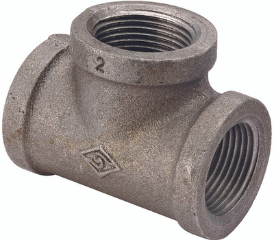 WorldWide Sourcing B130R 20X15X15 Prosource 3/4 By 1/2 By 1/2 Inch Black Pipe Reducing Tee