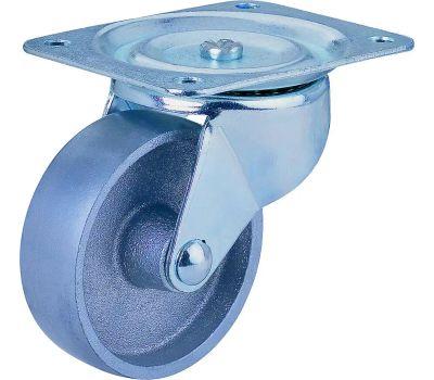 ProSource JC-S05 Swivel Steel Wheel 2 Inch Plate Caster
