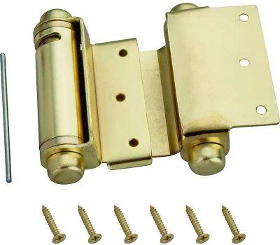ProSource LR-024-L3L Mintcraft Double Action Spring Hinge 3 Inch Satin Brass