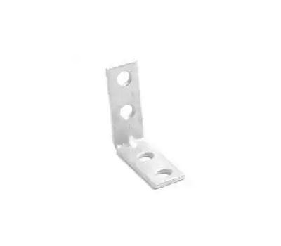 ProSource CB-Z03-013L Corner Brace 3 By 3/4 Inch Zinc Plated Steel Bulk