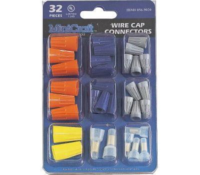 ProSource CP-323L Wire Cap Connectors Set 32 Pieces