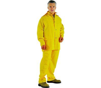 DiamondBack OX025PU-XL Rainsuit 3 Piece Polyester Yellow Extra Large