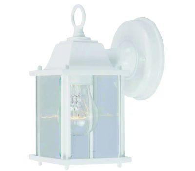 Boston Harbor AL1037-43L 1 Light White Small Porch Wall Lantern