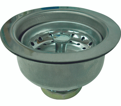 WorldWide Sourcing 122043-3L Prosource Basket Strainer Assembly, Stainless Steel