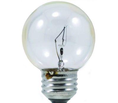 Sylvania 10298 25 Watt Light Bulbs Clear Incandescent 2 Pack