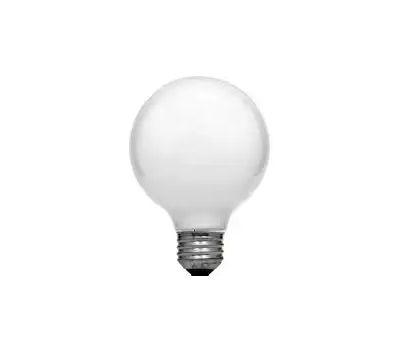 Sylvania 14190 40 Watt Decorative Light Bulbs Incandescent Globe G25 Soft White Pack Of 6