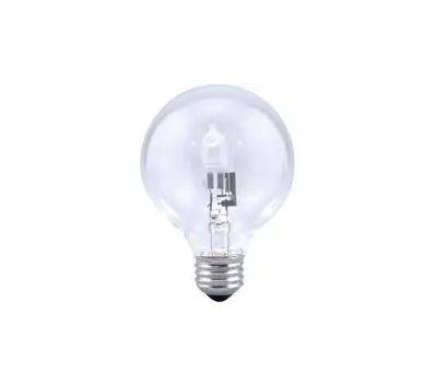 Sylvania 14191 40 Watt Incandescent Globe G25 Clear Value Pack Of 6