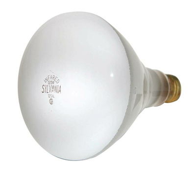 Sylvania 15451 Incandescent Lamp, 125 W, Br40 Lamp, Medium E26 Lamp Base, 1000 Lumens, 2850 K Color Temp
