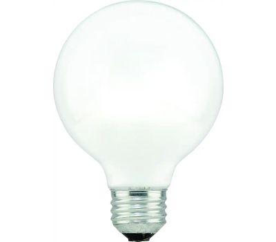 Sylvania 15882 40 Watt G25 White Globe Bulb 3 Pack